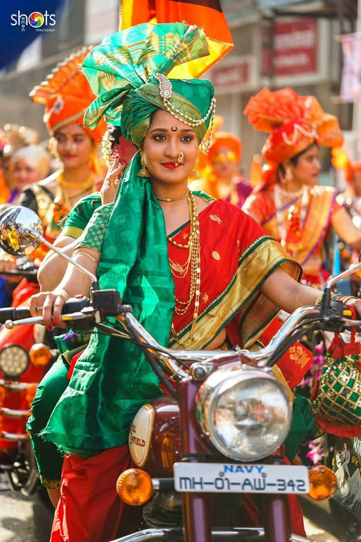 &quot;Gudi padwa&quot; celebration in #Mumbai in....Real Maratha style. Salute to all the Mardani&#39;s in it   #HappynewYear  Credits: HK Shots <br>http://pic.twitter.com/w4mxykEFHS
