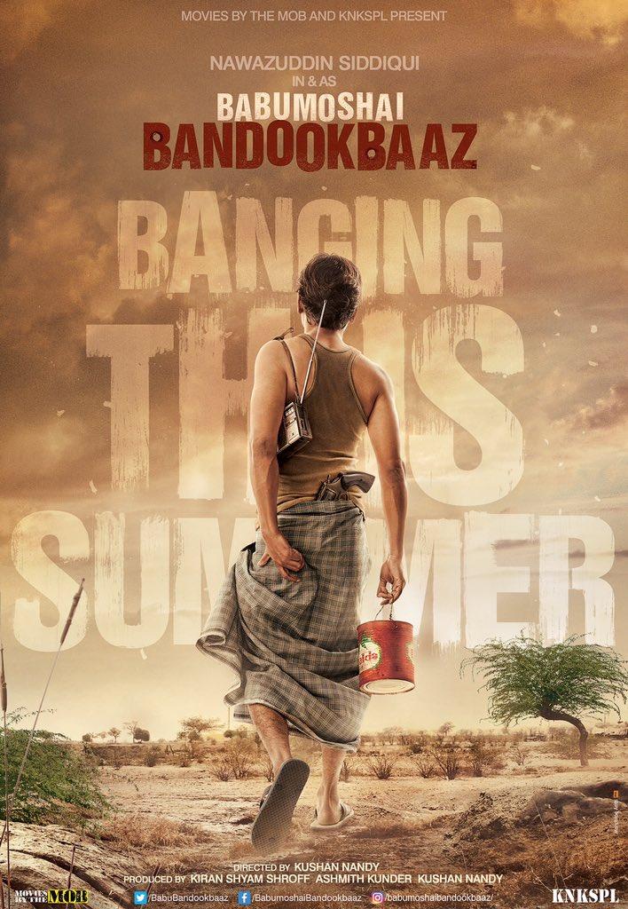 Babumoshai Bandookbaaz First Look Poster starring Nawazuddin Siddiqui