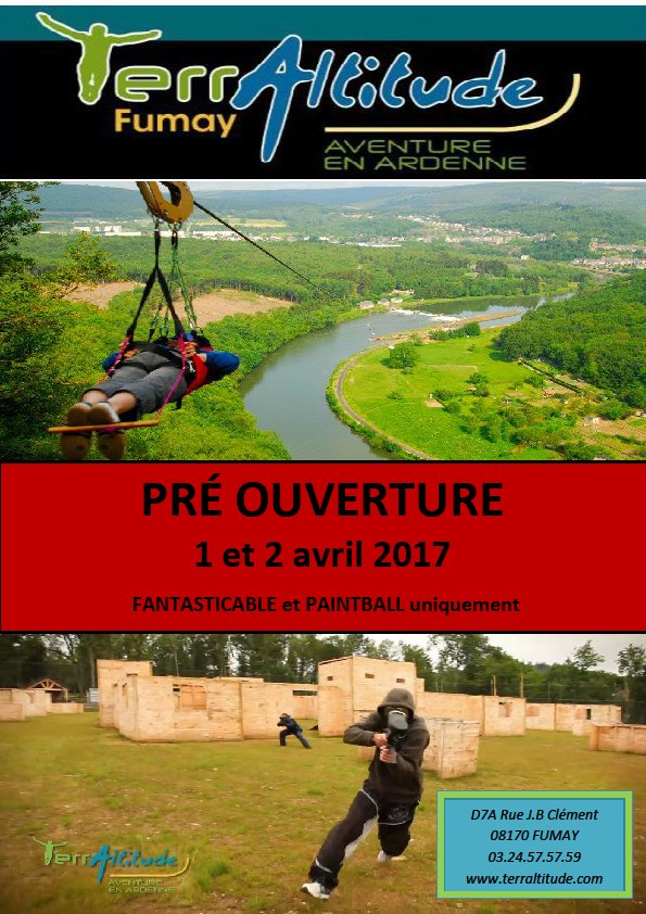 Venez tester vos limites au parc #terraltitude en #Ardenne ce weekend lors de la pré-ouverture :  http://www. terraltitude.com/fr/  &nbsp;  <br>http://pic.twitter.com/eDKIp5Ys52