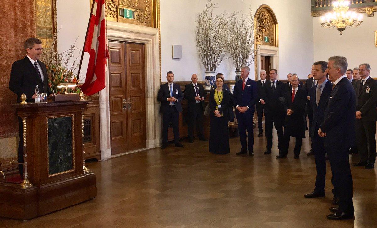 Официальный визит королевской четы Бельгии в Данию, день 2