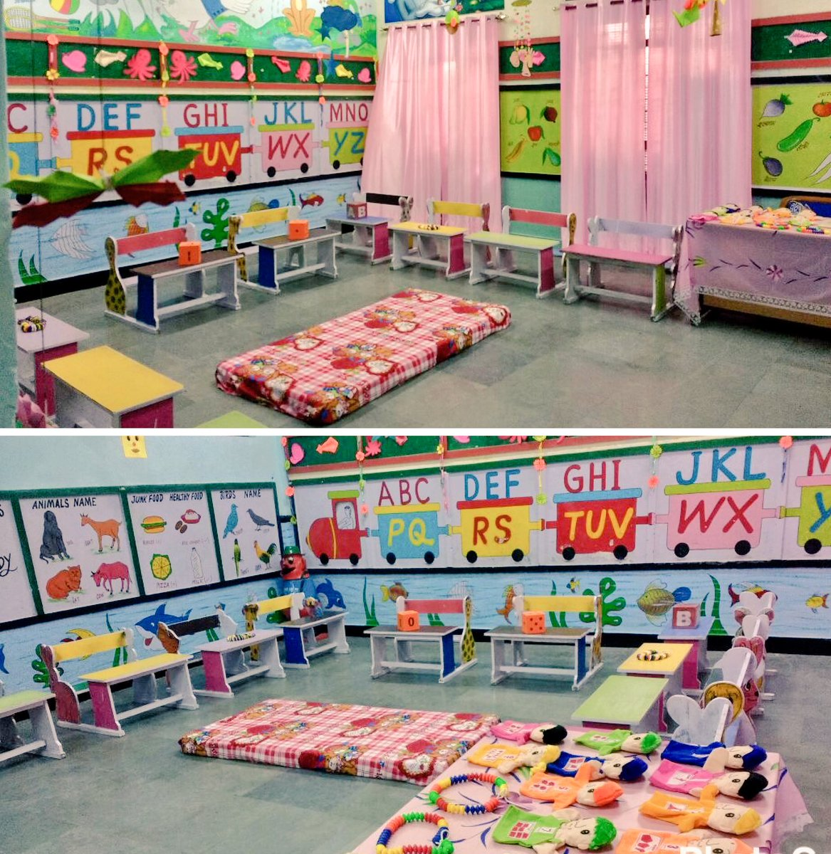 Aap Ka Mehta On Twitter Beautifully Decorated Nursery Classroom Of