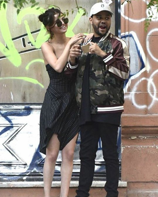 Selena Gomez And The Weeknd Seen In Argentina @selenagomez #selenagomez @theweeknd #theweeknd #abelena