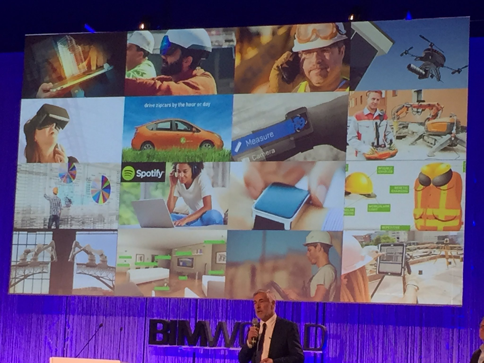 """""""En 2020, nous aurons 50 milliards d'objets connectés autour de nous"""" Uwe Wasserman Autodesk #BIMworld https://t.co/bfjTLnjKqu"""
