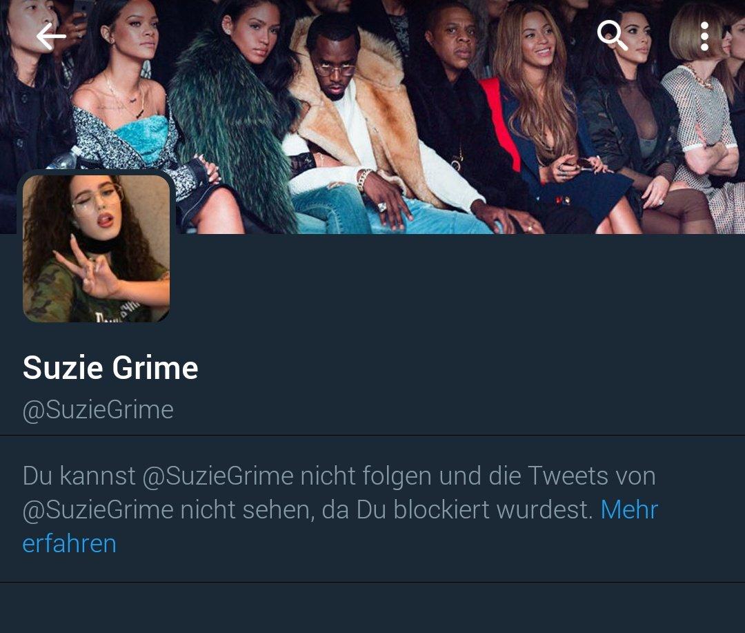 Erst Handofblood nun Suzie Grime. Ich Erfolgsperson pic.twitter.com/EnsPqrusOL
