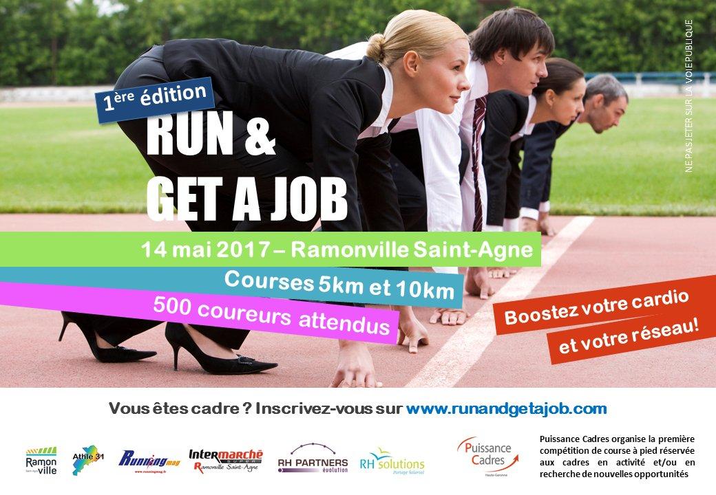 Vous souhaitez passer la vitesse supérieure ? Avec @PuissCadres31 c&#39;est possible ! Inscrivez vous  http://www. runandgetajob.com  &nbsp;   #courir #emploi<br>http://pic.twitter.com/7sErPkGajV