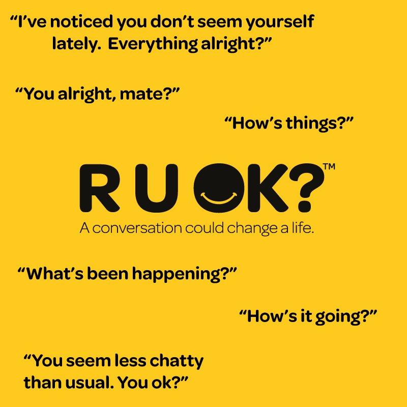 Different ways to start a conversation