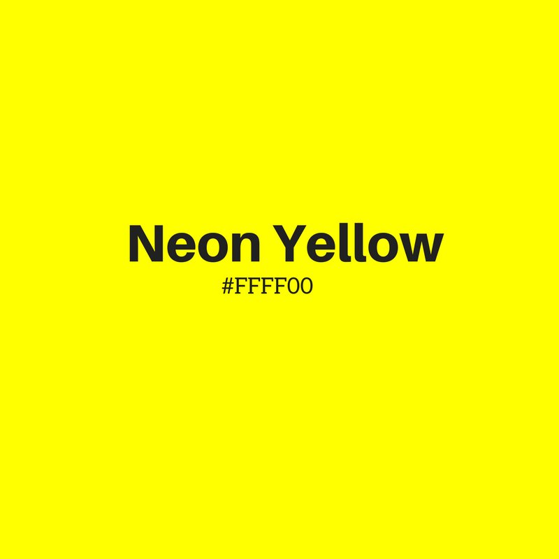 A1 Neon yellow is a disturbing color. You stare a little while and your head starts spinning. #GuruChats https://t.co/uDUQhI4oHp