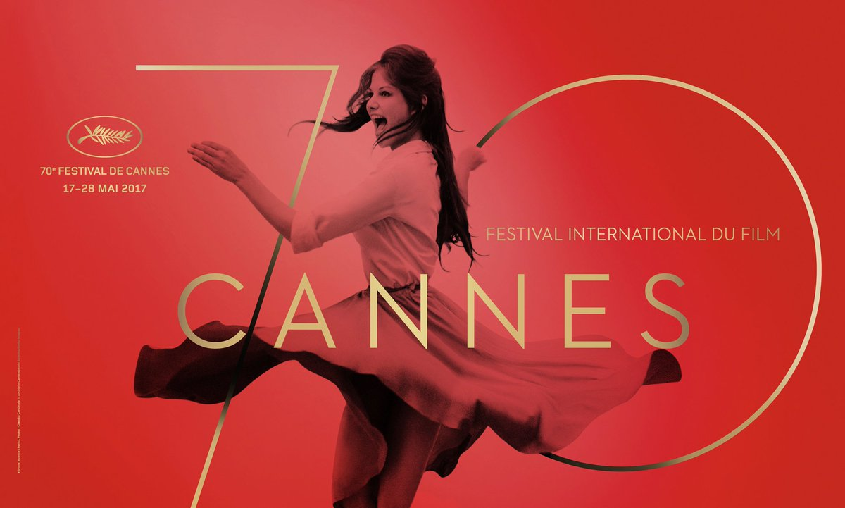 Cannes reveals 2017 festival poster depicting dancing Claudia Cardinal...