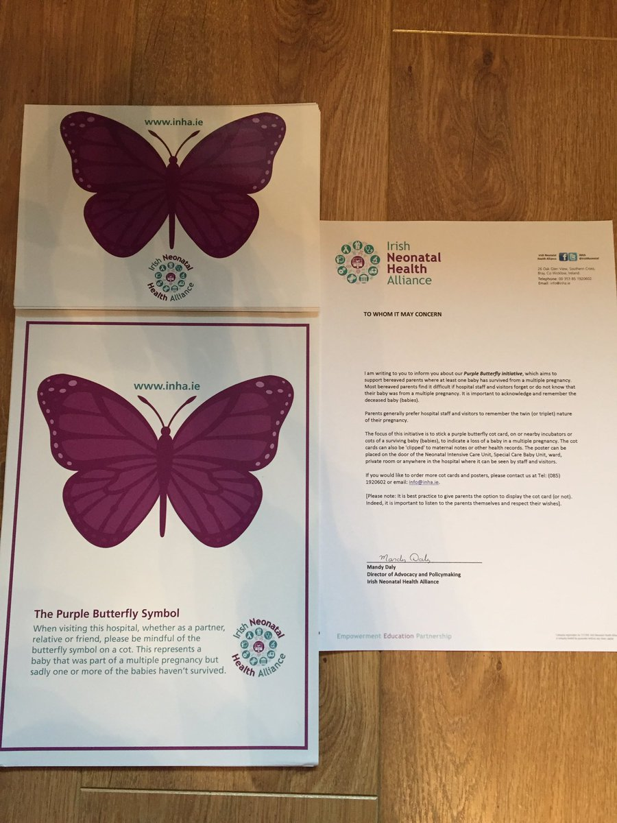 Inha on twitter purple butterfly initiative being rolled out to inha on twitter purple butterfly initiative being rolled out to all maternity hospitals courtesy of the inhasupportingfamiliesbabyloss buycottarizona