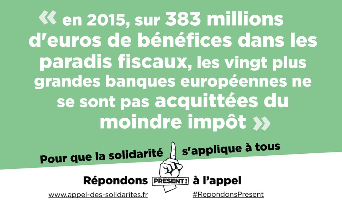Stop à l&#39;impunité des banques! Signez sur  http://www.xn--appel-des-solidarits-t2b.fr appel-des-solidarités.fr  &nbsp;   - Rapport d&#39;@oxfamfrance sur #EvasionFiscale  http:// oxf.am/ZEkU  &nbsp;   <br>http://pic.twitter.com/8wrLOcmlEN