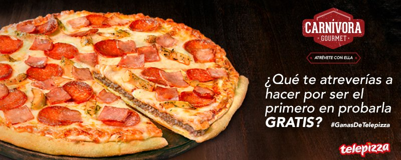 Nueva Carnívora Gourmet ¿Te atreves con ella? 😏💪  Participa en #GanasD...