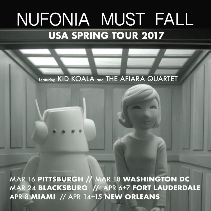 SOUTHERN TOUR!  #FORTLAUDERDALE APR 6+7 @BCBaileyHall   #MIAMI APR 8 @OlympiaTheater   #NEWORLEANS APR 14+15 @CACNO   http:// kidkoala.com/upcoming-events  &nbsp;  <br>http://pic.twitter.com/xSL5EXeVzy