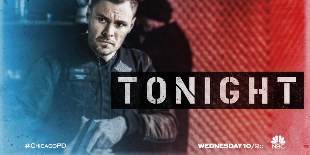 Ruzek will see you tonight at 10/9c on @NBC! #ChicagoPD https://t.co/Z...