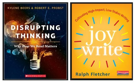 Just preordered my copies!Can't wait to learn more from 3 of my heroes: @KyleneBeers @BobProbst @FletcherRalph #DisruptingThinking #JoyWrite https://t.co/oWK58rAYgh