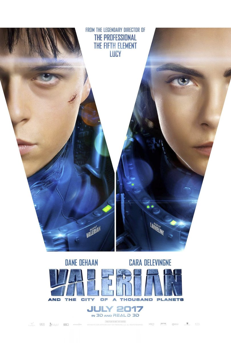 New Valerian and the City of a Thousand Planets Teaser Trailer 8