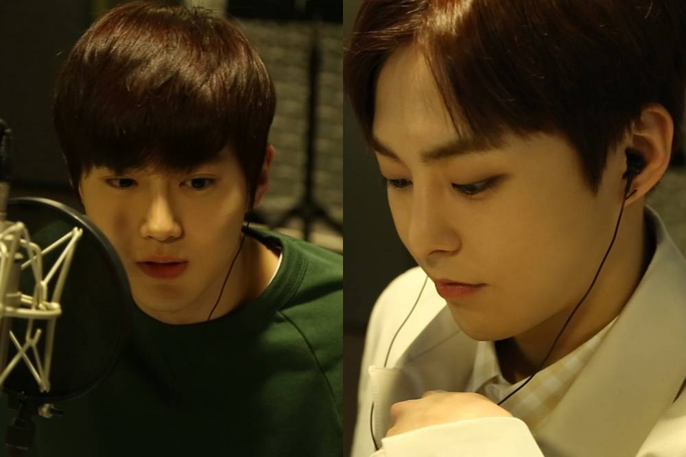 #EXO's Xiumin and Suho narrate documentary 'Korea From Above' https://...