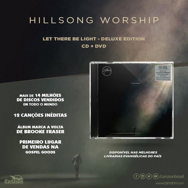 CD+DVD da Hillsong Worship - Let There Be Light - Deluxe Edition! #SomosCanZion #worship #hillsong #alegria #quehajaluz #adoração #bomdia<br>http://pic.twitter.com/5ZBGSMpByv