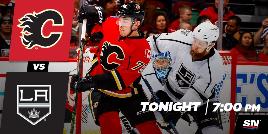 IT'S GAME DAY! The #Flames take on the #LAKings at 7:00 PM MT! Preview...