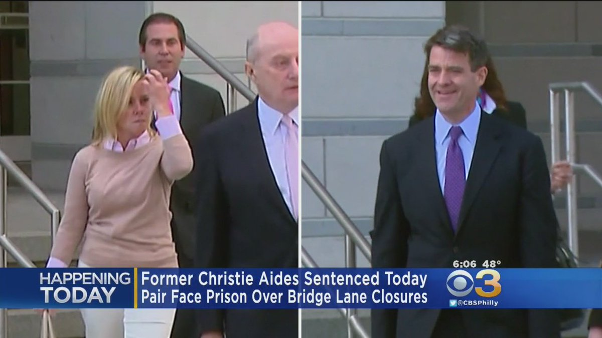 Ex-Christie Aides To Be Sentenced In New Jersey Bridge Case https://t....