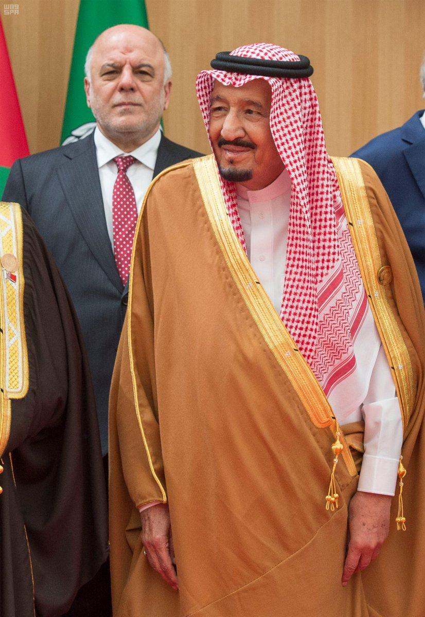 #صور تذكارية لزعماء وقادة العرب قبل انعقاد #القمة_العربية . #واس https...