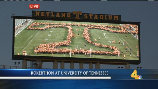 Here's a live look from @UTKnoxville! Students/staff/alumni are trying...