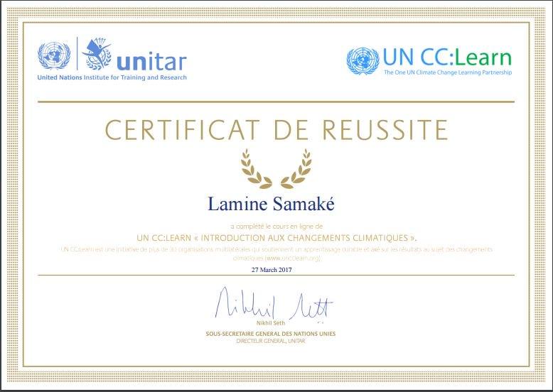 &quot;le Savoir est une arme face au #climatechange.&quot; #LIMS  @UNFCCC @UNITAR @uncclearn @IPARSENEGAL @afavps<br>http://pic.twitter.com/dEe9hA8oZp