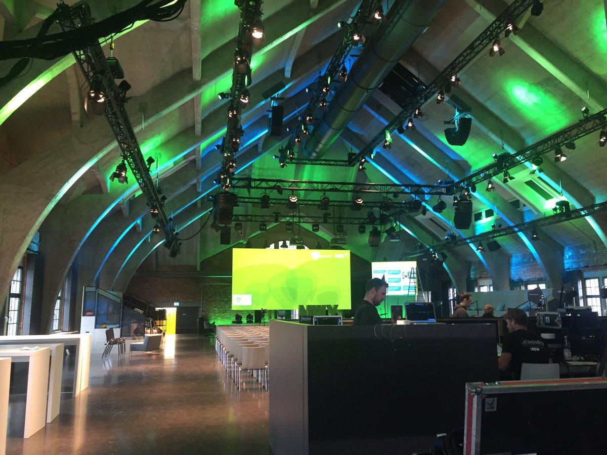 Die Vorbereitungen zur #nwx17 in Berlin laufen auf Hochtouren! Wir seh...