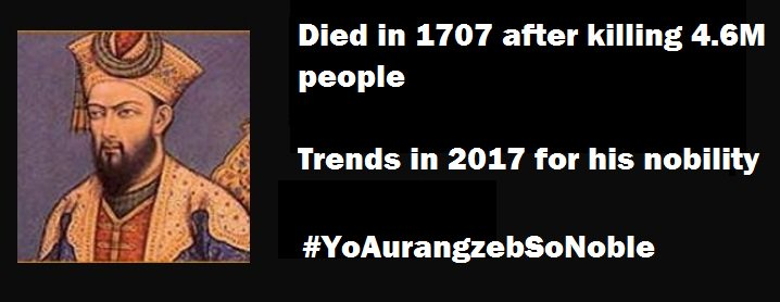 #YoAurangzebSoNoble https://t.co/Qq06Qamuwf