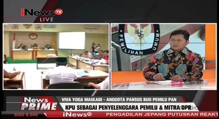 .@vivayogamauladi: Tugas KPU membuat UU, apa yang sudah ditetapkan di...