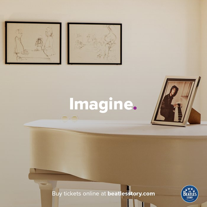 Just 'Imagine' coming to see this piano... 🎼 #PianoDay https://t.co/lJ...