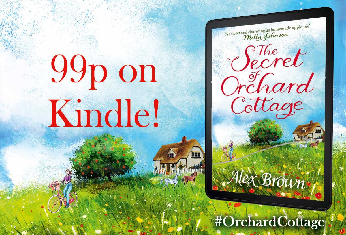 COMP time! RT & Follow to WIN 1 of 3 signed copies of #OrchardCottage paperback. https://t.co/nIRyQg5AJ7 Closes 24/4 https://t.co/ANzbT3xLHJ