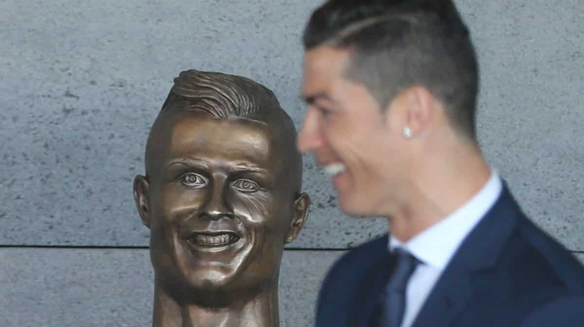 Cristiano Ronaldo officially unveils the newly-renamed Raoul Moat Inte...