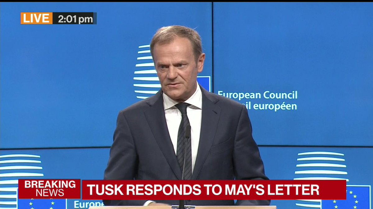BREAKING: 'There's no reason to pretend that this is a happy day,' EU'...