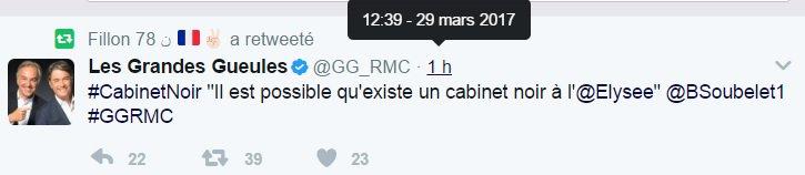 Non seulement #Soubelet lâche #Macron... mais s&#39;interroge sur #RMC sur l&#39;existence d&#39;un cabinet noir à l&#39;Elysée  http://www. rtl.fr/actu/politique /presidentielle-2017-le-general-bertrand-soubelet-lache-emmanuel-macron-7787863243 &nbsp; …  #RPR<br>http://pic.twitter.com/SGgpE6ecmt