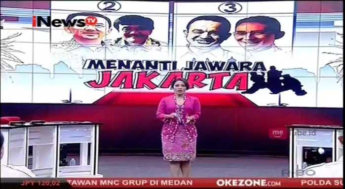 Menanti Jawara Jakarta bersama Anisha Dasuki telah dimulai. Selamat me...