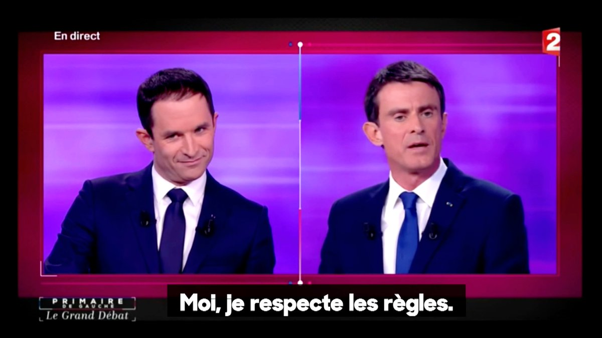 Il promettait quoi déjà Manuel #Valls pendant la primaire de la gauche...