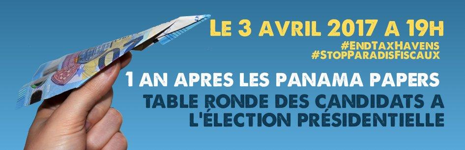 Qu&#39;ont prévu les candidats #Présidentielle2017 contre l&#39;#evasionfiscale ? RDV lundi 03 avril INSCRIPTIONS  http:// bit.ly/2oy3Uka  &nbsp;  <br>http://pic.twitter.com/pue7v1giEc