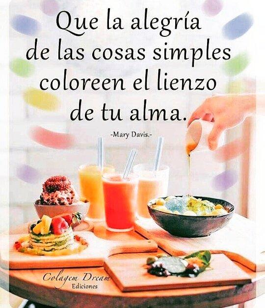 La #alegría de las cosas simples   #ActitudPositiva #MaryDavis #Alma<br>http://pic.twitter.com/9kJxYcZqg7