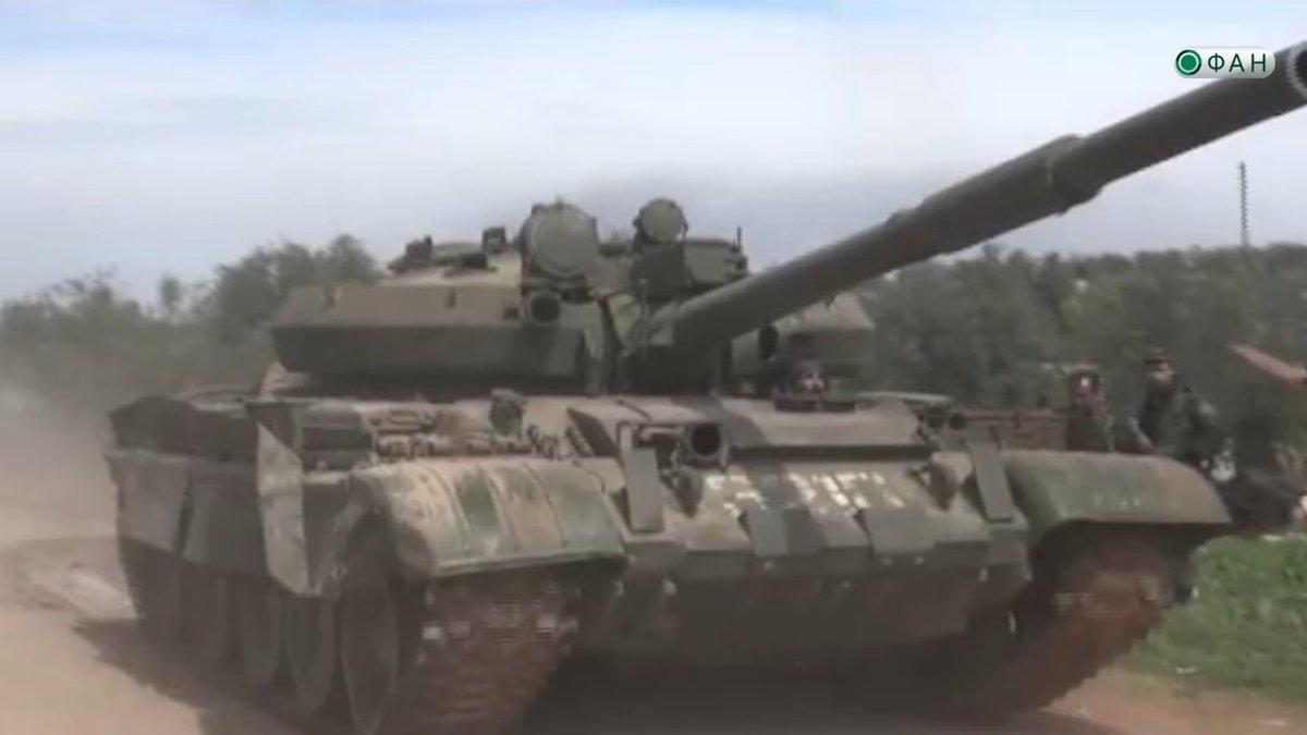 الجيش العربي السوري يتسلم دفعة من دبابات T-62M ومركبات مشاة قتالية BMP-1 - صفحة 2 C8FkchrXkAABg0N
