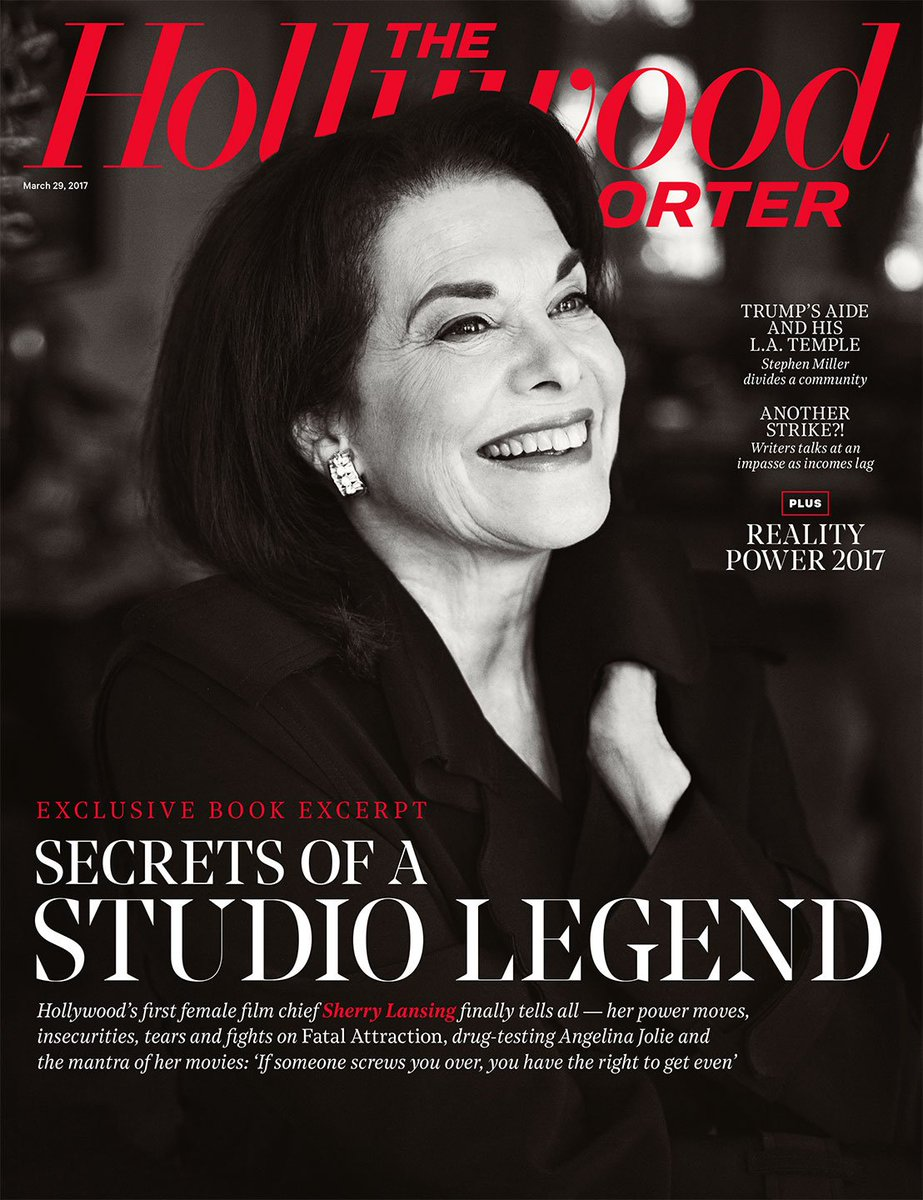 Hollywood's First Female Boss Tell-All Book...