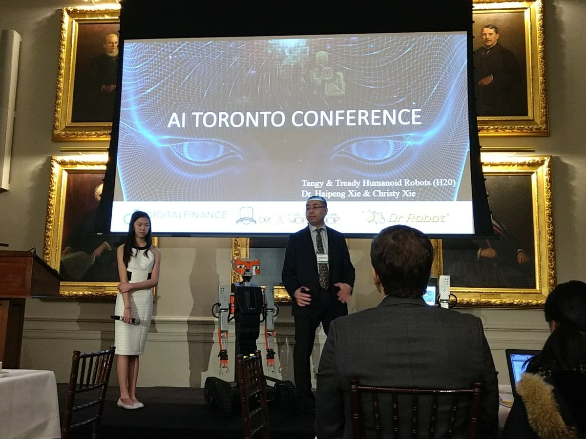 We're excited to be here for the #AIToronto Summit! Starting the day m...