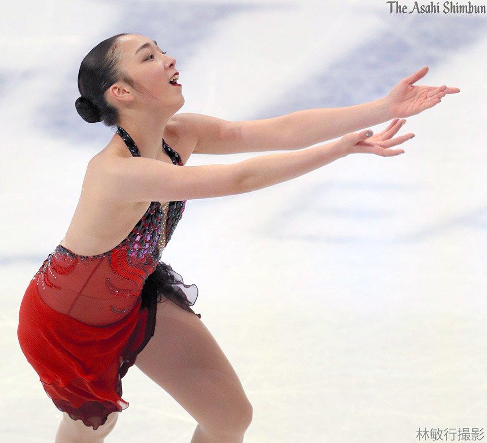 https://t.co/ZPhPvSJPlr 女子SPで演技する #本郷理華 選手です。(達) #世界選手権 #helsinki2017...