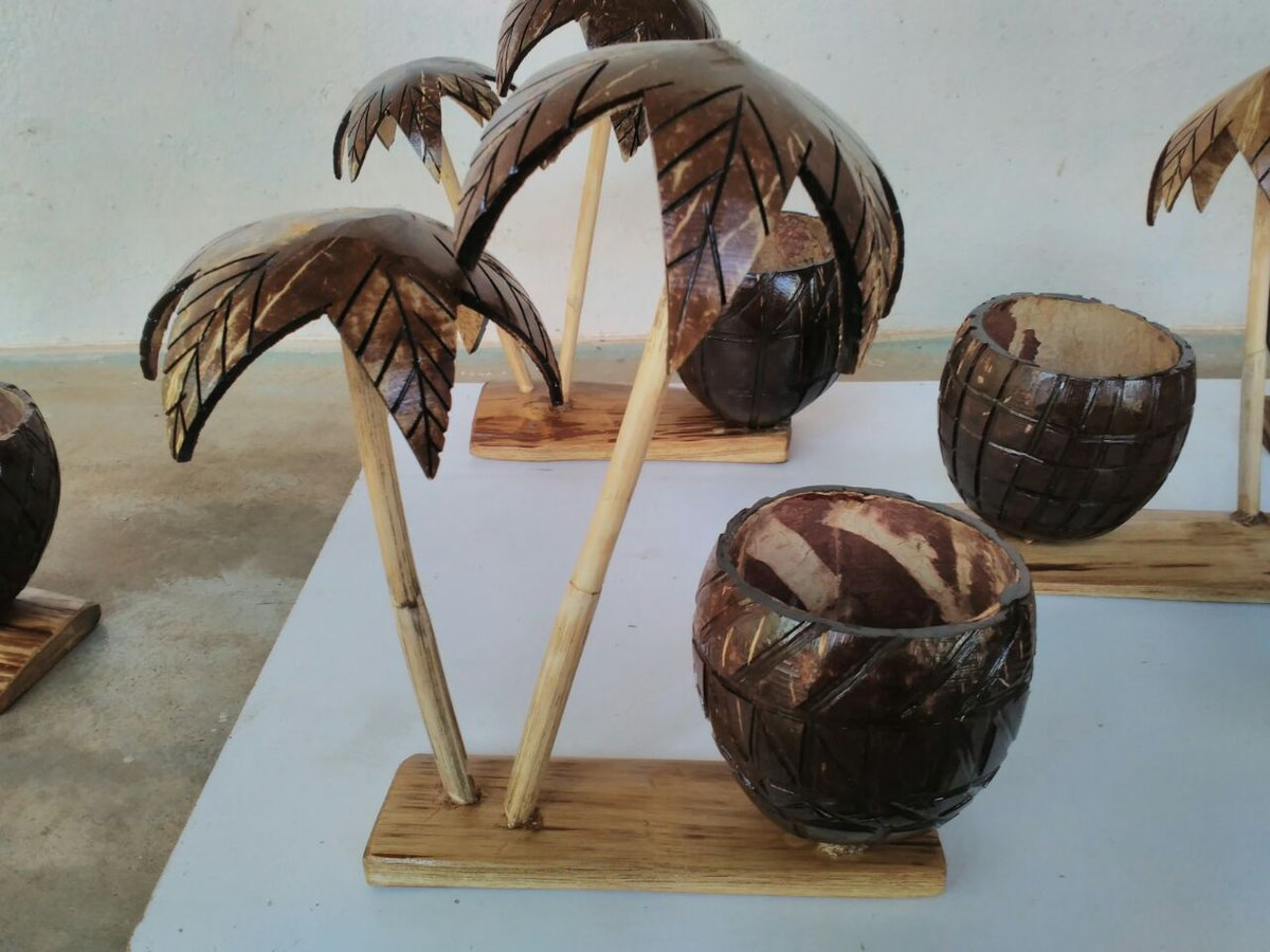 Indian Diplomacy On Twitter Coconut Shell Handicrafts The Eco