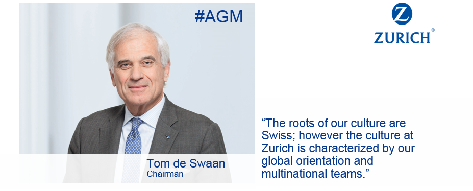 Proud of our Swiss roots: Chairman Tom de Swaan at today's Annual General Meeting #AGM https://t.co/kwMN4TuGTC