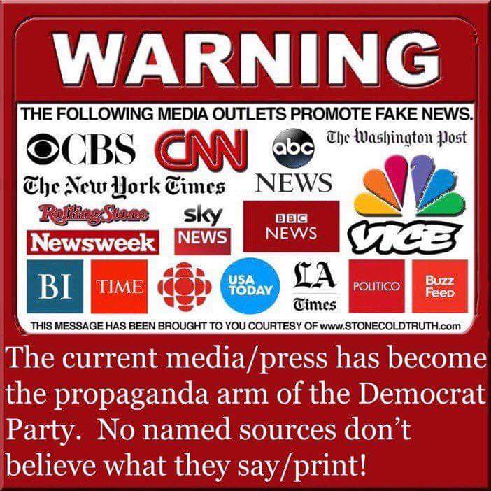 #SupportRealNews Not fake news.