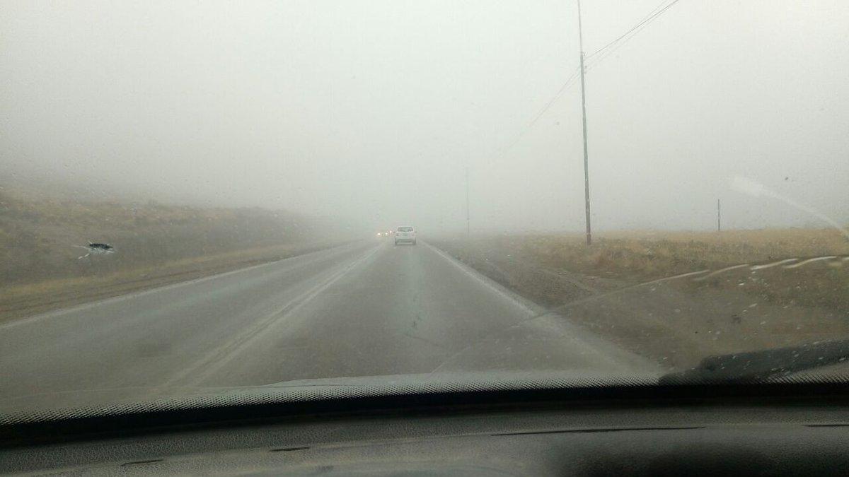 #Ahora Cortan el camino Centenario de norte a sur por la poca visibili...