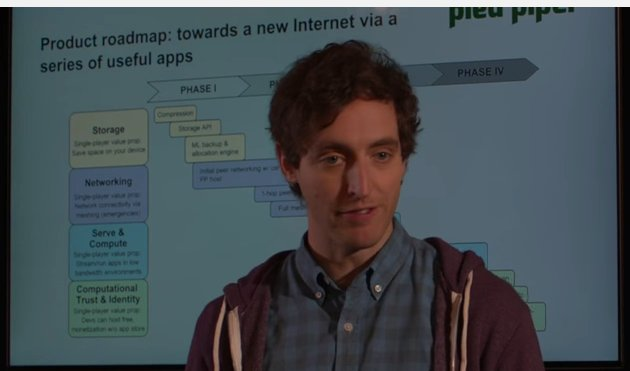 "Silicon Valley Season 4 is all about decentralized tech. Whoop! See phase IV -> ""Ethereum-type compute"". https://t.co/2ocHQZJ3qB"