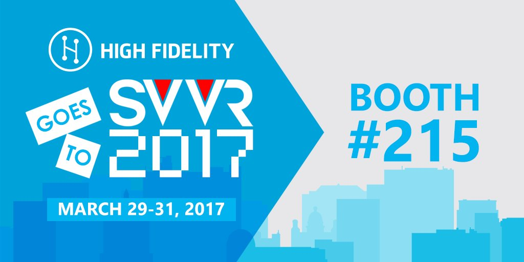 Headed to #SVVR2017? We are, too! Drop by our booth (#215) and check o...