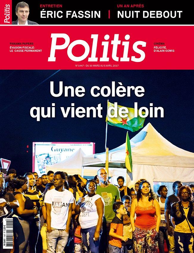 À LA UNE #Guyane : une colère profonde / ENQUÊTE #EvasionFiscale / ENTRETIEN @EricFassin / ANALYSE Famine en #Afrique / DOSSIER #NuitDebout<br>http://pic.twitter.com/VPvxvbZCaV