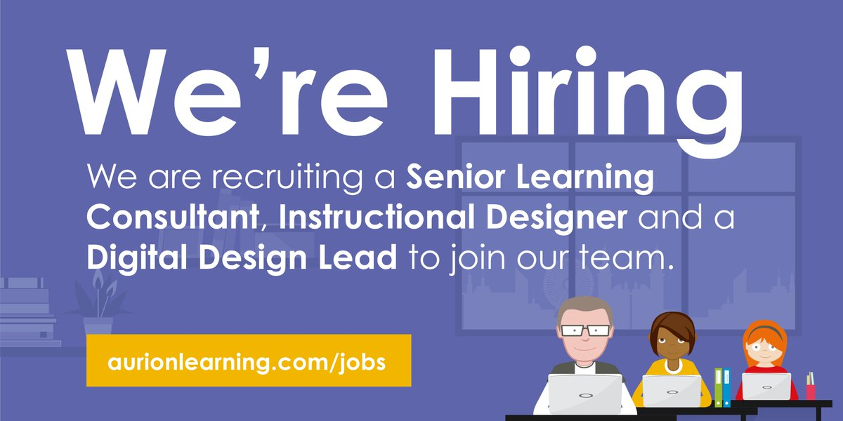 Aurion Learning On Twitter Were Hiring A Senior Learning